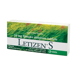 Letizen S, 10 tablet